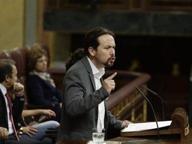 """Iglesias acusa l'Estat de destruir la democràcia a Espanya: """"Corruptes del PP lliures; independentistes presos"""" (EUROPA PRESS)"""