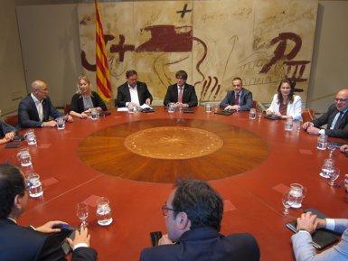 Puigdemont aborda aquest dimarts amb els seus consellers la possible resposta a Rajoy (EUROPA PRESS)