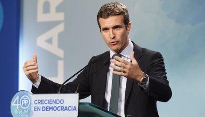 """El PP: """"Cuando la ley se cumple, la calle no se tiene por qué incendiar"""""""