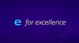 'E For Excellence'