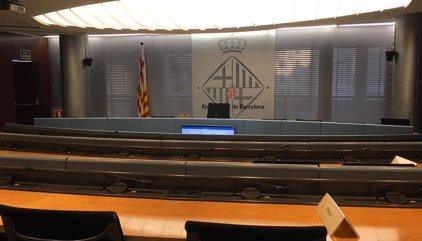 Barcelona suspende la comisión de Derechos Sociales por las detenciones de Sànchez y Cuixart