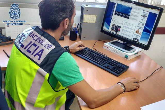 La Policía Nacional investiga una estafa