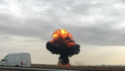 Muere el piloto del F-18 accidentado en la base de Torrejón de Ardoz (Madrid)