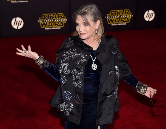 Carrie Fisher/ Getty