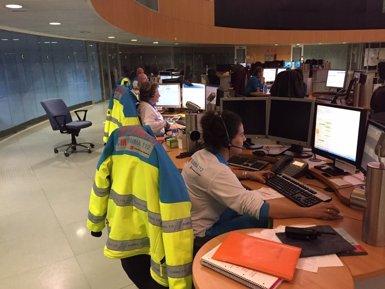 La Guàrdia Civil es persona a la seu del 112 de Reus per investigar trucades (112 COMUNIDAD DE MADRID)