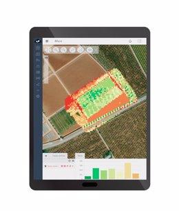 Ejemplo de la nueva funcionalidad de Agroplanning