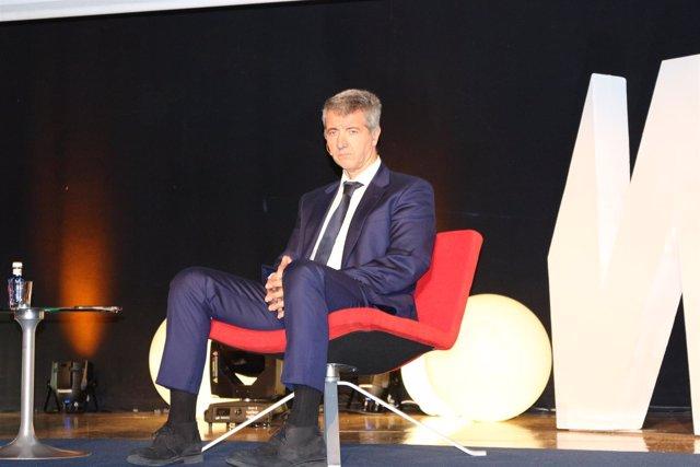 Miguel Ángel Gil Marín en el World Football Summit