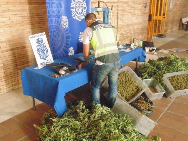 Policía Nacional marihuana Cártama