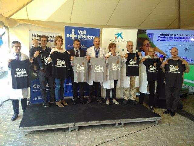 Presentación de la campaña 'Como en casa' en el Hospital Vall d'Hebron