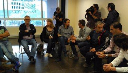 """Iglesias veu Sànchez i Cuixart """"presos polítics"""" en un país """"en què delinqüents i corruptes gaudeixen d'impunitat"""""""