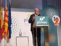 Pimec lamenta que la presó per a Sànchez i Cuixart dificulta el diàleg (EUROPA PRESS)