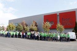 Més de 250 treballadors del grup Bon Preu a Balenyà aturen l'activitat com a protesta per la presó de Sànchez i Cuixart (ACN)