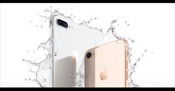 FACUA denuncia a Apple por publicidad engañosa de sus iPhone 8, al decir en anuncios que son impermeables