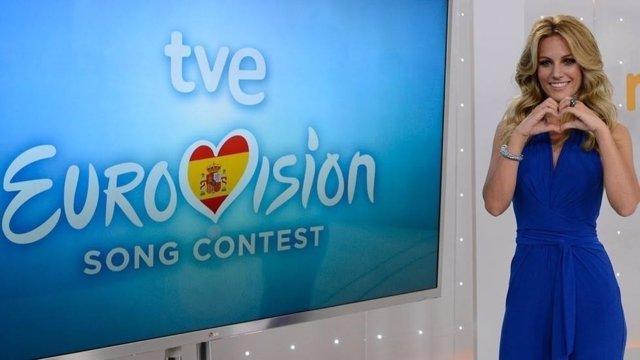 Edurne en Eurovisión 2015