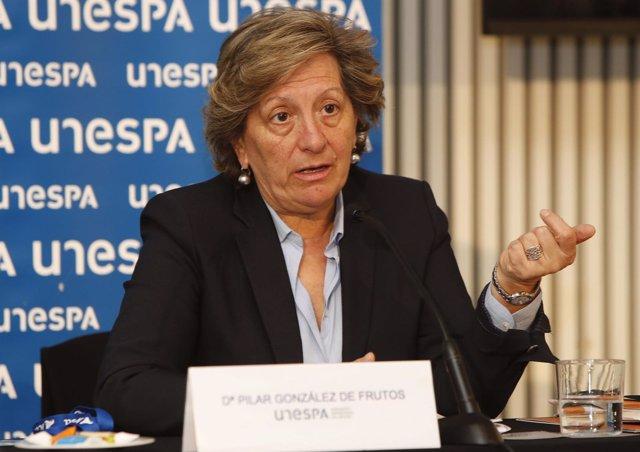 Pilar González de Frutos, presidenta Unespa