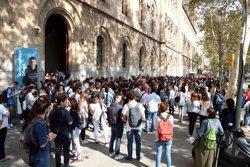 La comunitat universitària s'atura per exigir la llibertat de Sànchez i Cuixart (ACN)