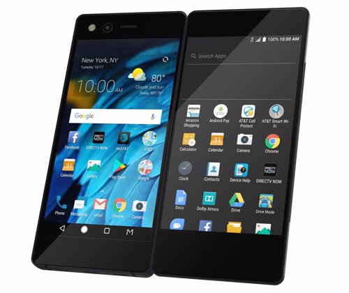 ZTE presenta Axon M, un smartpohne con doble pantalla plegable