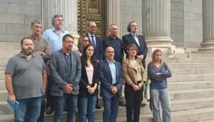 Unidos Podemos, PNB, PDeCAT, Compromís i Bildu injurien al Congrés l'empresonament de Sànchez i Cuixart