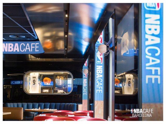 La NBA busca locales en Madrid para abrir su segundo NBA Café tras el de  Barcelona 34eb091044f