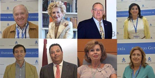 Nueva Comisión Ejecutiva del Consejo General de Enfermería