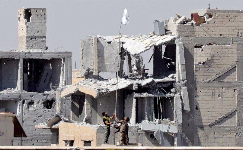 EEUU asegura que sólo se ha recuperado un 90 por ciento de la ciudad de Raqqa