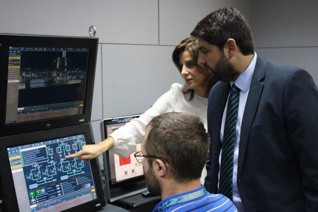 Visita del presidente López Miras a Navantia