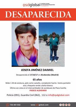 Mujer desaparecida