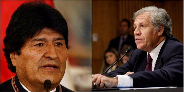 """Morales indica que el secretario de la OEA padece de una """"enfermiza obsesion gol"""