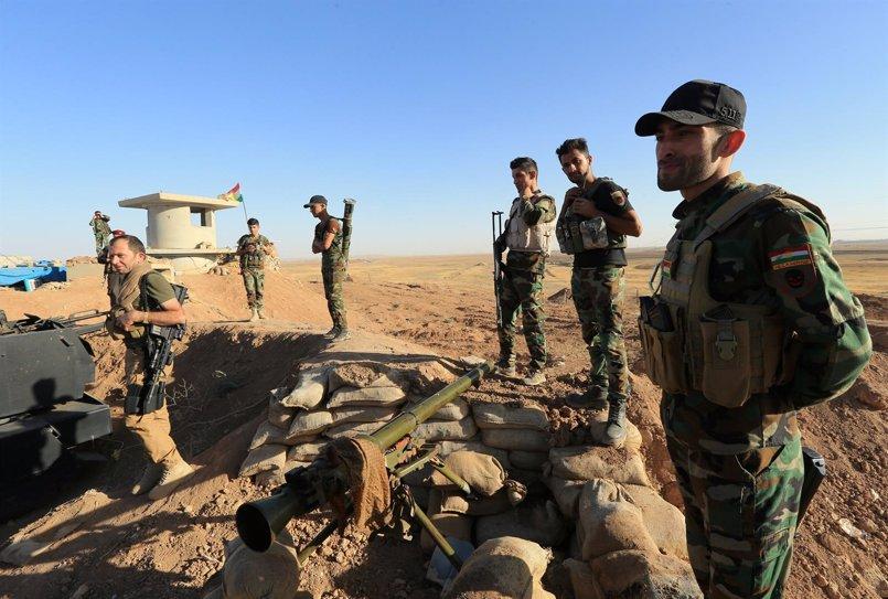 Las fuerzas kurdas se retiran de la frontera con Irán para ser sustituidas por tropas iraquíes