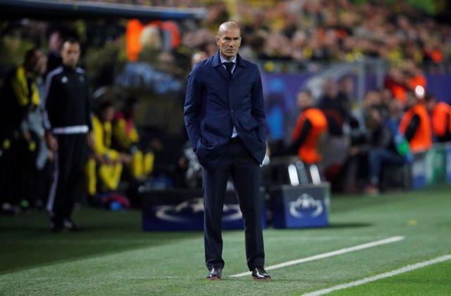 Zinedine Zidane Borussia Dortmund Real Madrid