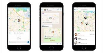 WhatsApp permite a sus usuarios compartir ubicaciones en tiempo real con sus contactos
