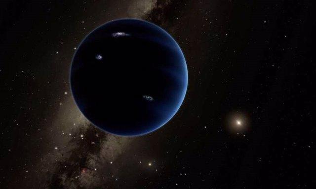 Concepto artístico del 'Planeta Nueve'