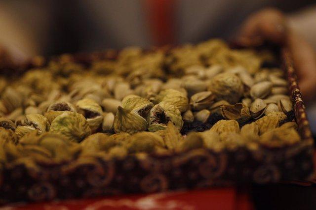 Fitur 2016: pistachos, pasas, frutos secos