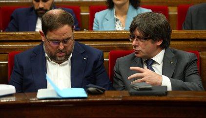 El Gobierno contempla sustituir a Junqueras si aplica el 155 y reforzar el control sobre la Hacienda catalana