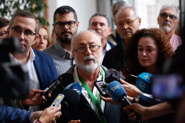 Atención a medios sobre el antiguo Hospital Militar de Sevilla