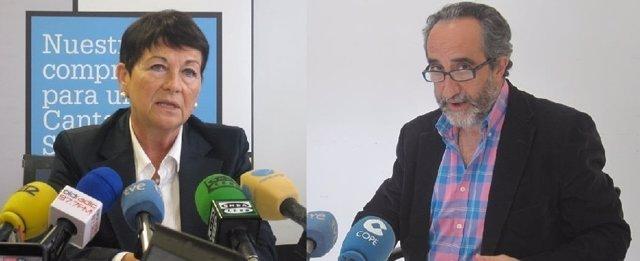Salvador Blanco y Rosa Inés García