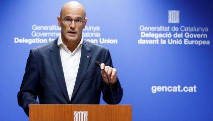 """Romeva afirma que el Govern está """"preparado"""" para declarar la independencia  y rechaza convocar elecciones"""