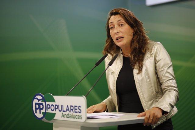 Loles López, secretaria general del PP-A
