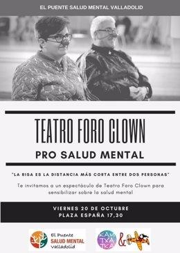 Valladolid: Cartel de Foro Clown