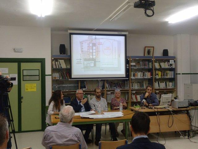 Presentación del proyecto de Casines en Puerto Real