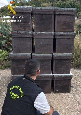 Guardia Civil Remitiendo Nota De Prensa Foto