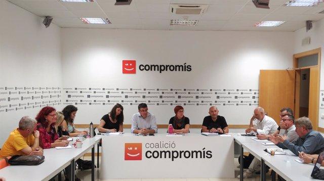 Ejecutiva de Compromís - 17 de octubre de 2017