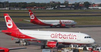 El último vuelo de largo radio de Air Berlin desde Duesseldorf termina con polémica