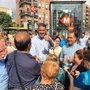 Foto: Albiol culpa a Puigdemont del corte de la Diagonal y pide un nuevo Govern