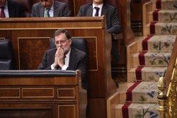 Rajoy promet a Rivera mantenir-lo informat sobre la concreció tècnica de l'article 155 a Catalunya (Europa Press)