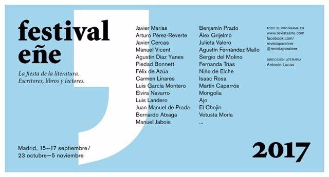 Cartel de la nueva edición del Festival Eñe