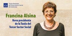 Francina Alsina, nova presidenta de la Taula del Tercer Sector (TAULA DEL TERCER SECTOR SOCIAL)