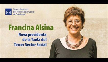 Francina Alsina, nova presidenta de la Taula del Tercer Sector