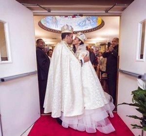 Boda del Príncipe Joel de Etiopía con Ariana en Estados Unidos