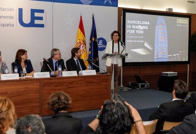 Candidatura de Barcelona para la sede de la la Agencia Europea del Medicamento